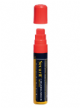 Red 15mm Wet Wipe Securit Chalk Marker